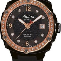 Alpina Avalanche Extreme Black Mother of Pearl Dial Ladies Watch