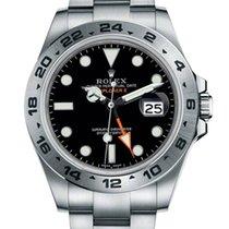 Rolex [NEW] Explorer II Watch: steel 216570 Black(Retail:HK$60...