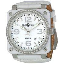 Bell & Ross White Ceramic Diamond Mother of Pearl