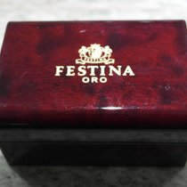 Festina vintage wooden box for gold watch