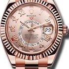 Rolex 18KT Pink Gold Skydweller