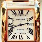 Cartier Tank Anglaise Extra-large 18k Rose Gold W5310002