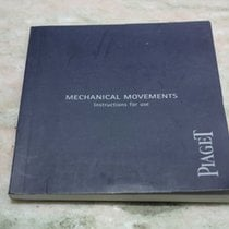 Piaget vintage kit warranty card and booklets for any model nos