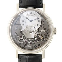 Breguet Tradition 18k Platinum Silver Automatic 7097BB/G1/9WU