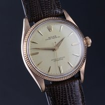 Rolex Oyster Perpetual 6567 rose GOLD vintage