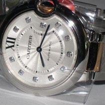 Cartier Ballon Bleu 18K Rose Gold Automatic Diamonds