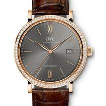 IWC Schaffhausen IW356516 Portofino Automatic Ardoise Index...