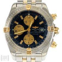 Breitling Uhr Evolution Chronomat Edelstahl/Gold Automatik...