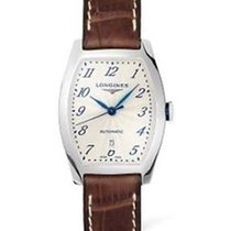 Longines Evidenza White Dial Brown Leather Band Automatic...