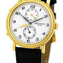 "Patek Philippe Gent's 18K Yellow Gold  # 5034 J ""Trave..."