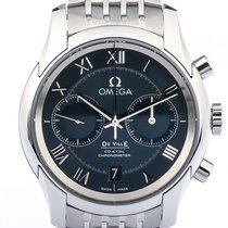 Omega De Ville Co-Axial Chronograph Stahl Automatik 42mm