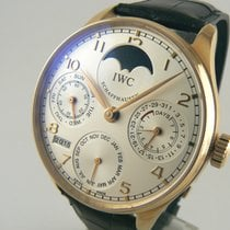 IWC Portugieser Perpetual Calendar Rosegold  New Old Stock