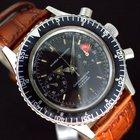 Nivada Grenchen Chronomaster Chronograph Black Dial