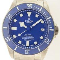 Tudor Pelagos Blue Dial 25600tb Titanium  B&p Aut. In...