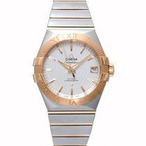 Omega Constellation 18K Red Gold Manual Winding Watch 123.20.3...