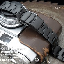 Seiko Tuna PVD Black Super Oyster Replacement Bracelet