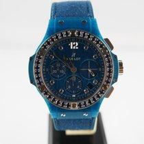 Hublot Big Bang Blue Linen  41mm Diamant
