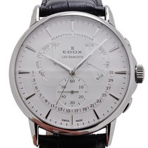 Edox LES BÉMONTS Perpetual Calendar Men Watch 01602 3 AIN