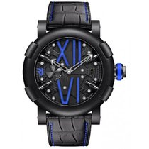 罗曼杰•罗姆 (Romain Jerome) Jerome Steampunk Auto Blue