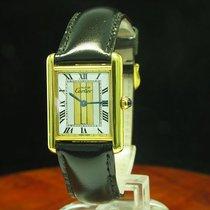 Cartier Tank Vermeil 925 Silber Vergoldet / Gold Mantel...