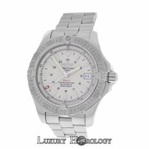 Breitling Mint Men Colt A17380 Steel 500M Date 41mm Automatic...