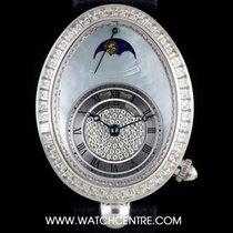Breguet 18k W/G Diamond Set Reine de Naples B&P 8909BB/VD/...