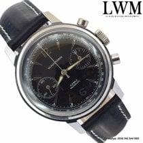 Wakmann Chronograph Incabloc black dial 1965's
