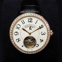 積家 (Jaeger-LeCoultre) Rendez-Vous Tourbillon 18K Pink Gold Day...