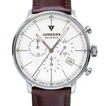 Junkers Bauhaus Chrono 6088-5 Herrenuhr 40 mm
