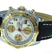 Breitling Chrono Cockpit Steel And Rose Gold Automatic Mens Watch