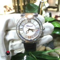 Chopard Imperiale 8531 Diamonds Bezel MOP Dial 18k Gold