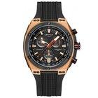 Certina DS Eagle GMT Black Rubber Men's Quartz Watch