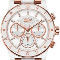 Lacoste Charlotte 2000804 Damenchronograph Silikonarmband