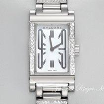 Bulgari Rettangolo Lady Weissgold 750 RT W39G Diamanten