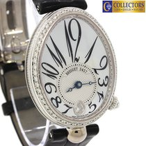 Breguet Reine De Naples 18k White Gold MOP Diamond 8918...