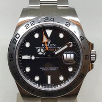 Rolex Explorer II Black Dial Steel 216570