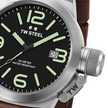 TW Steel CS21 Canteen Leather 45mm 10ATM