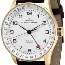 Zeno-Watch Basel -Watch Herrenuhr - X-Large Retro Pointerdate...