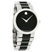 Movado Verto Mens TiCN Stainless Steel Swiss Quartz Watch 0606373