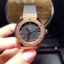 Hublot Classic Fusion Quartz  Gold 33mm Ladies Watch