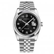 Rolex Datejust 36mm Steel 116200 Mens Watch