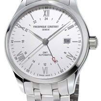 Frederique Constant Classics GMT Automatic Steel Mens Watch...