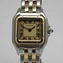 "Cartier ""Panthere PM"" 18K gold/steel"