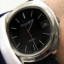 IWC Serviced Vintage IWC Quarz Quartz watch black dial 38mm