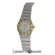 Omega Ladies Constellation Mini 18K Gold Stainless Steel