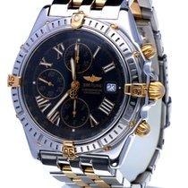 Breitling Crosswind Pilot Gold Steel Black Roman Dial 43 mm