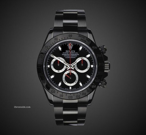 Rolex DAYTONA (Stealth) TITAN BLACK DLC / PVD