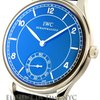 IWC Portuguese Collection Hand Wound Stainless Steel Black...