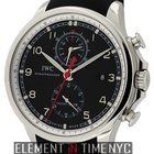 IWC Portuguese Collection Yacht Club Chronograph Steel Black...