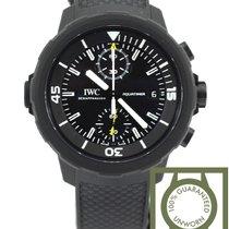 IWC Aquatimer Chronograph Edition Galapagos black NEW